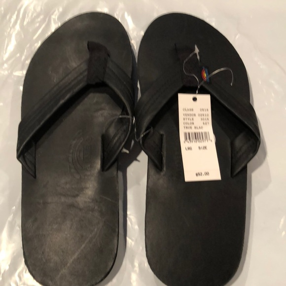 a0f606962ea2 Men s rainbow flip flop sandals large 9.5-10.5